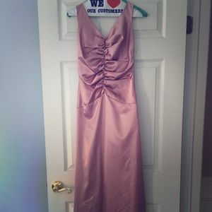 Jessica McClintock rose gold/ pink formal gown